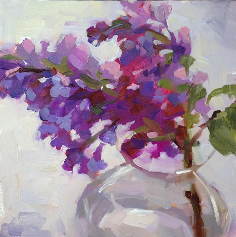 """Lilac"" original fine art by Katia Kyte"