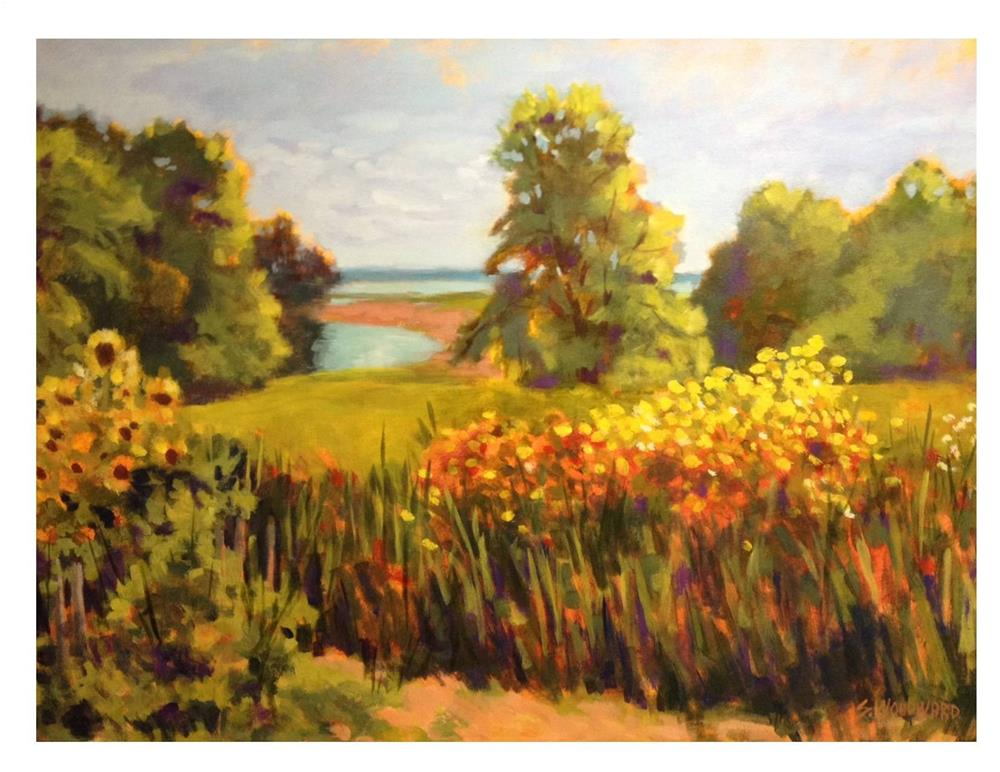"""One Day Last Fall"" original fine art by Suzanne Woodward"