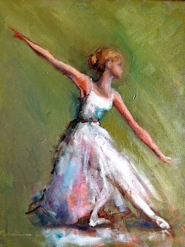"""Lost in the Dance"" original fine art by Marcia Hodges"