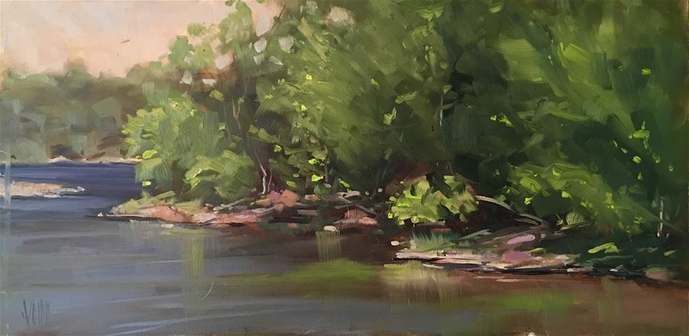 """#339 St Croix Bluffs Regional Park"" original fine art by Patty Voje"