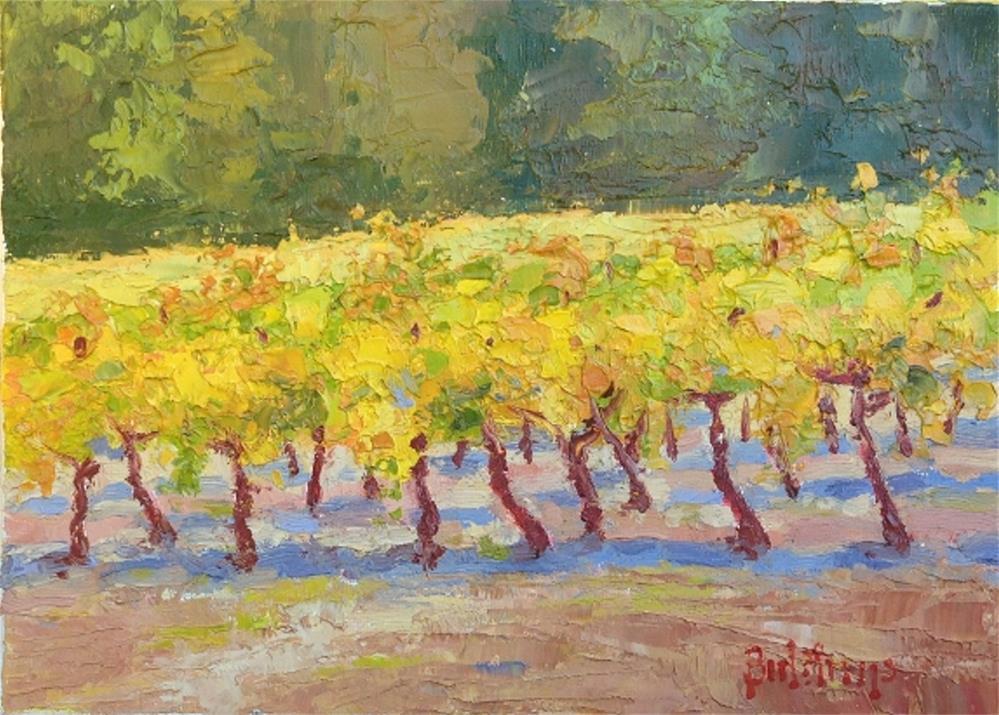 """Fall in Greenwood"" original fine art by Mark Bidstrup"