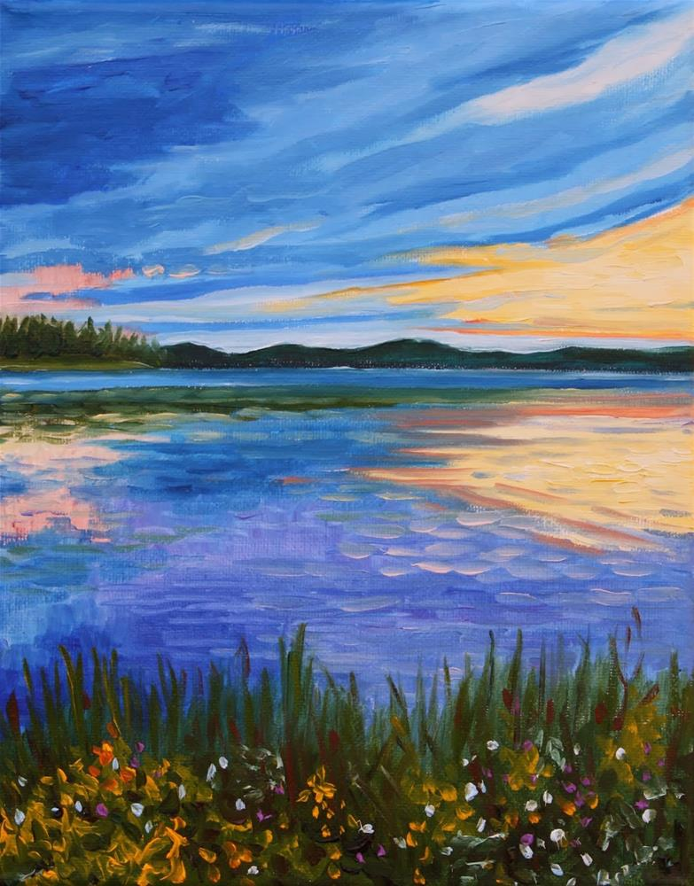 """Peace and Tranquility"" original fine art by Hilary J. England"