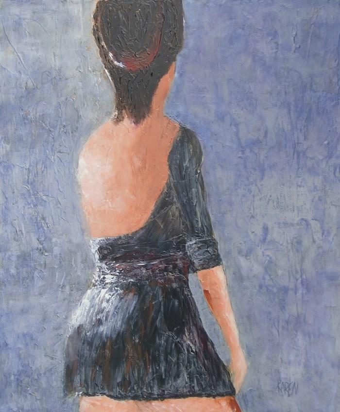 """Untitled"" original fine art by karen richardson"