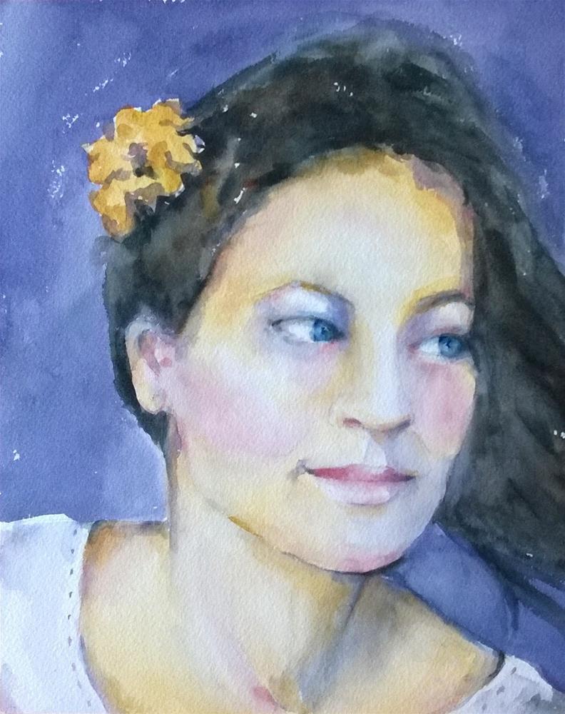 """Anna Katharina 4"" original fine art by Crisynda Buss"
