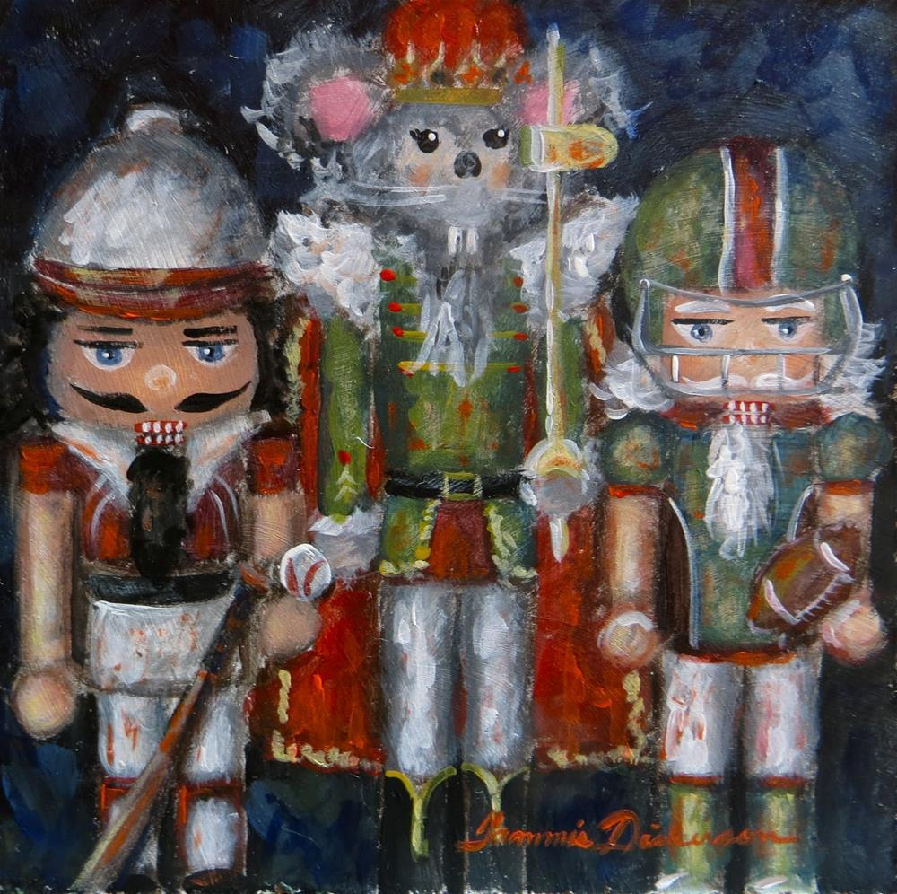 """Mouse King and the Boys"" original fine art by Tammie Dickerson"