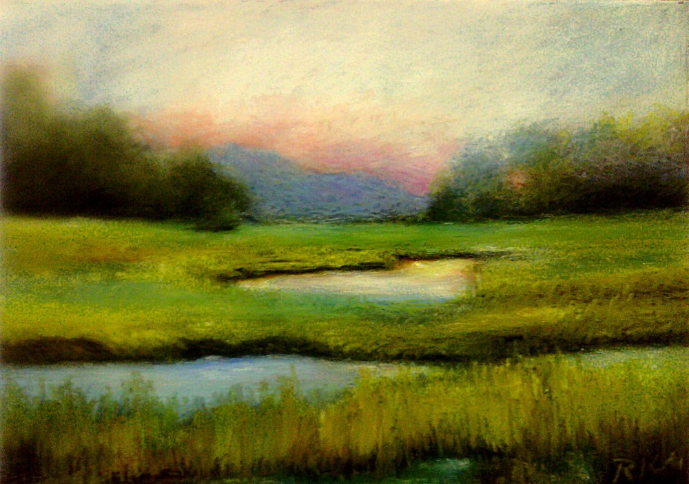 """The Marshes"" original fine art by Bob Kimball"