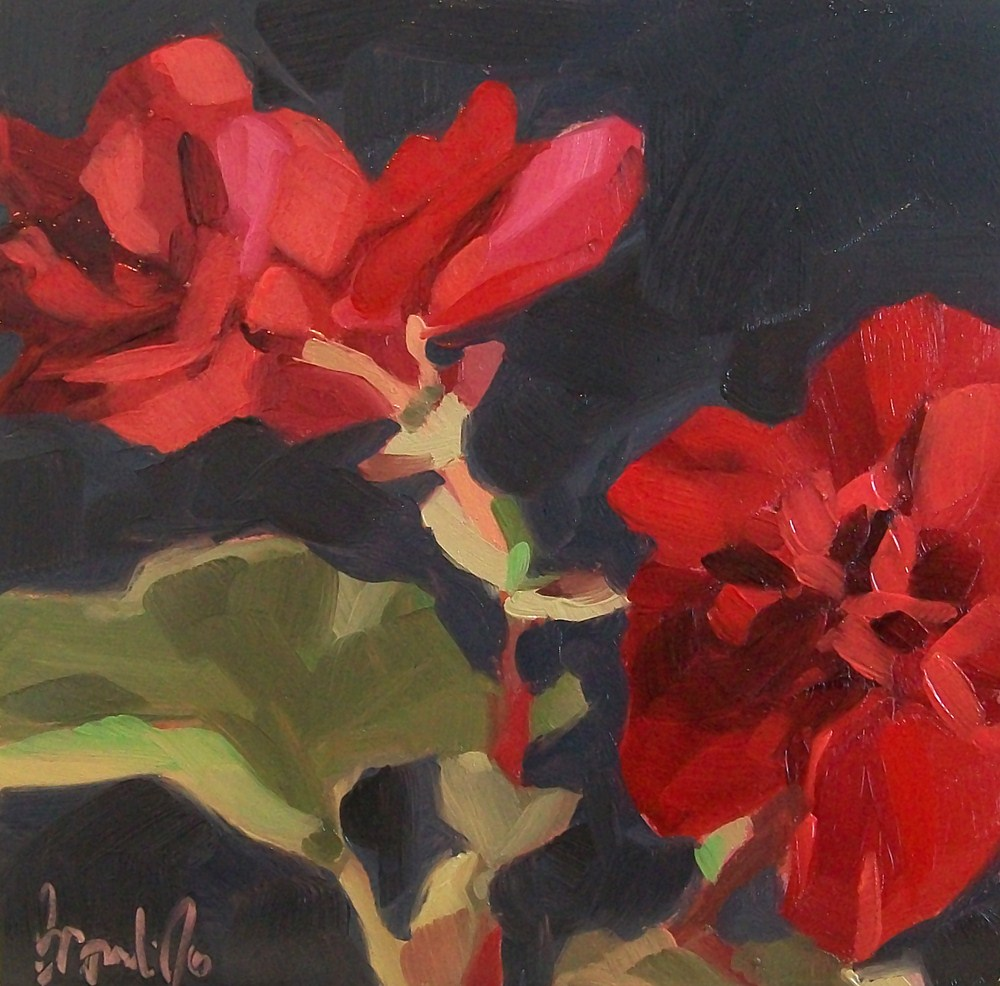 """Red study 2"" original fine art by Brandi Bowman"