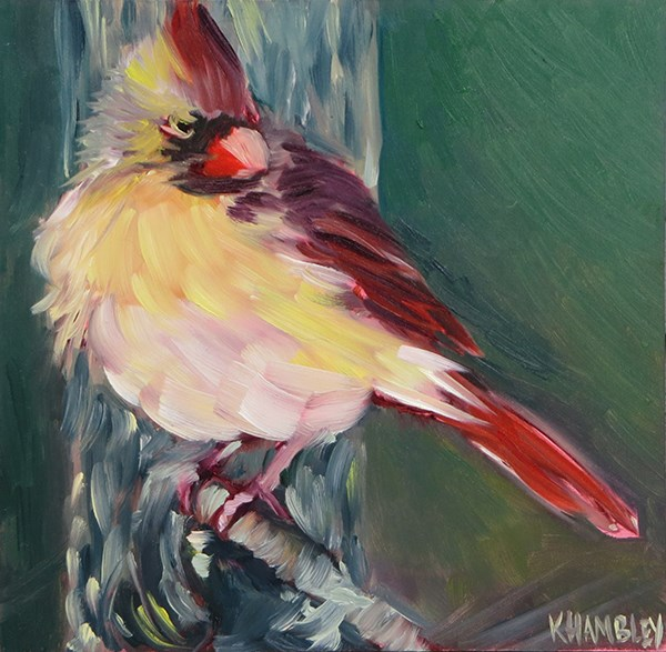 """Strike A Pose"" original fine art by Katherine Hambley"
