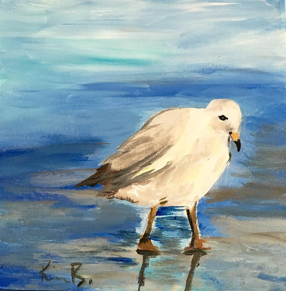"""The Bird"" original fine art by Kimberly Balentine"