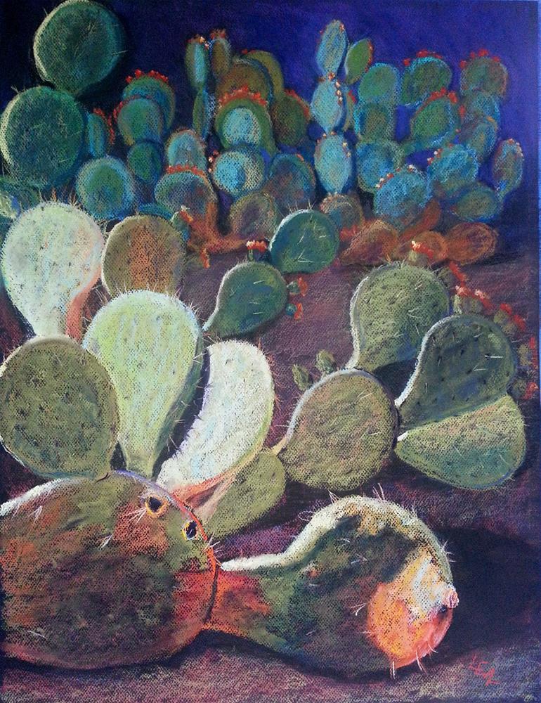 """""""Patty Melt"""" original fine art by Anna Lisa Leal"""