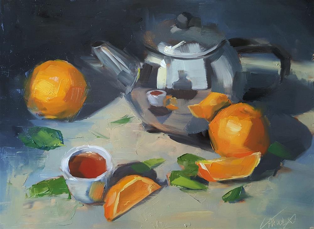 """Orange Pekoe"" original fine art by Cory Proulx"