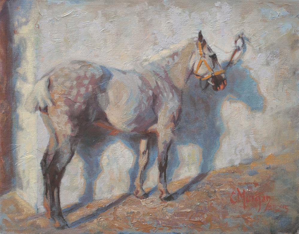 """""""Shades of Grey"""" original fine art by Cecile W. Morgan"""