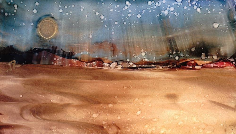 """Dreamscape No. 439"" original fine art by June Rollins"