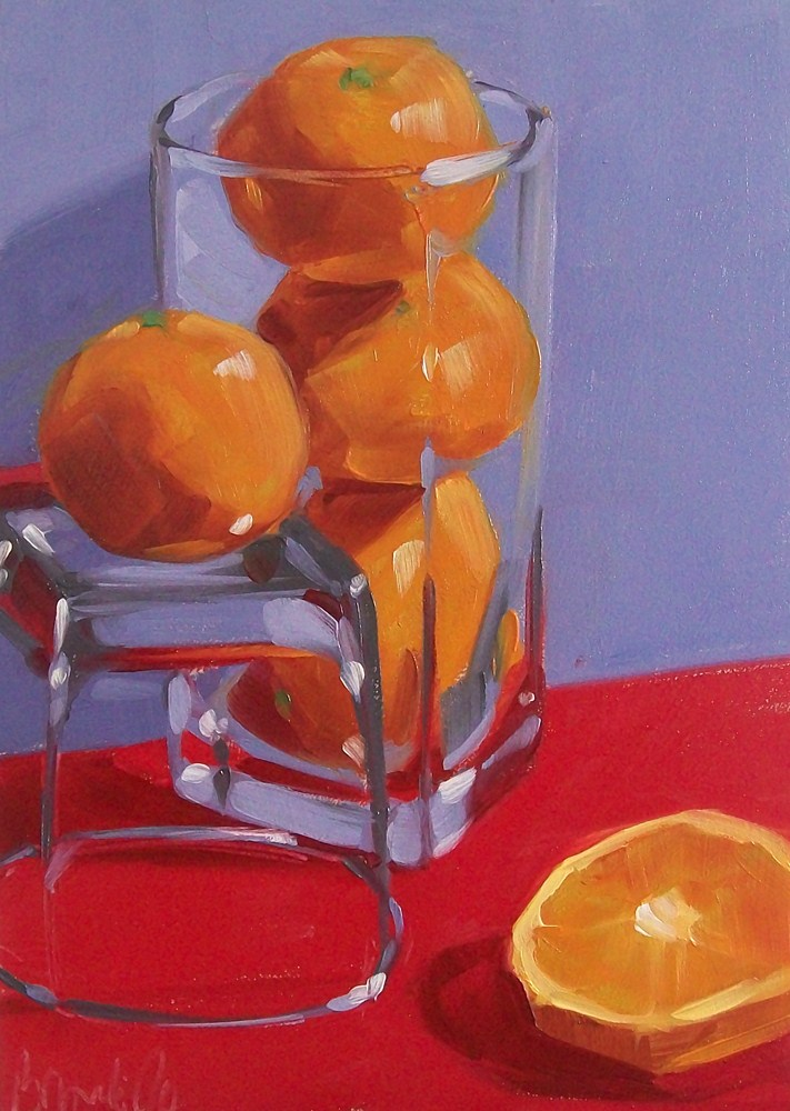 """OJ"" original fine art by Brandi Bowman"
