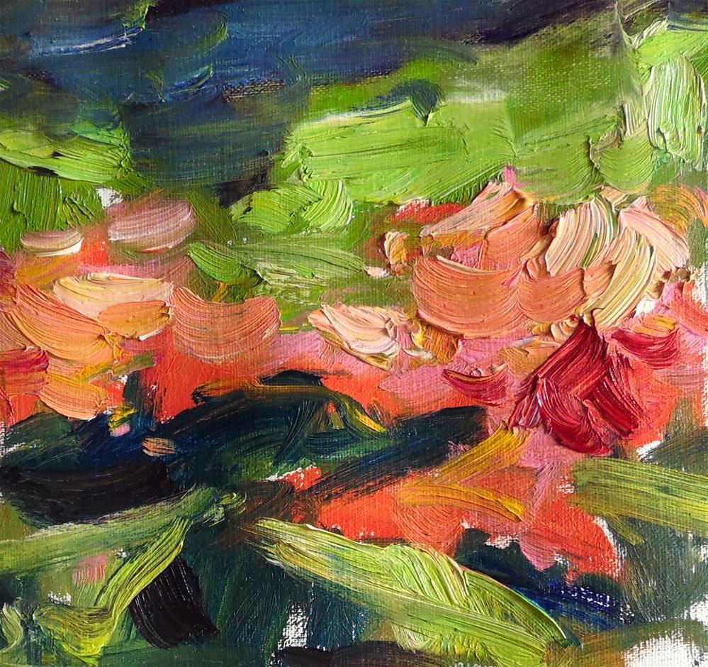 """Garden Abstraction "" original fine art by Michael Clark"