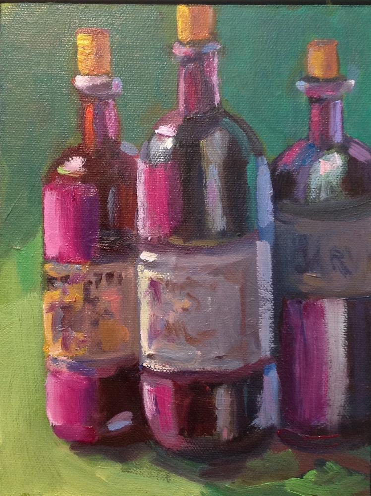 """Three Amigos"" original fine art by Marcia Bergtholdt"