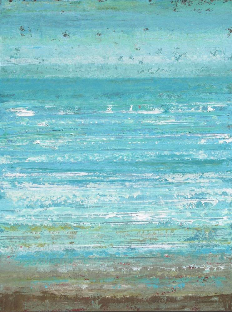 """""""Surf Side"""" original fine art by Sage Mountain"""