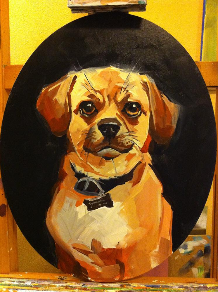 """Felix"" original fine art by Teddi Parker"