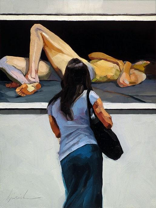 """Uglow"" original fine art by Karin Jurick"