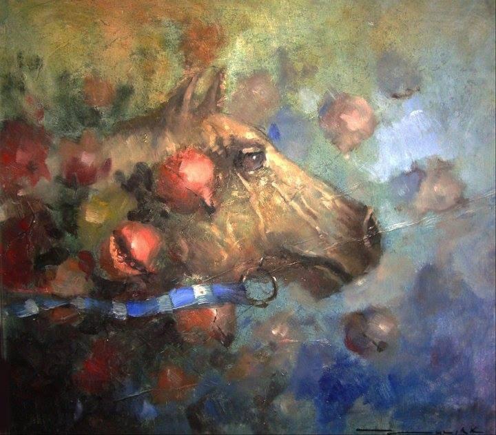 """""""Horse"""" original fine art by Dragan Culjak"""