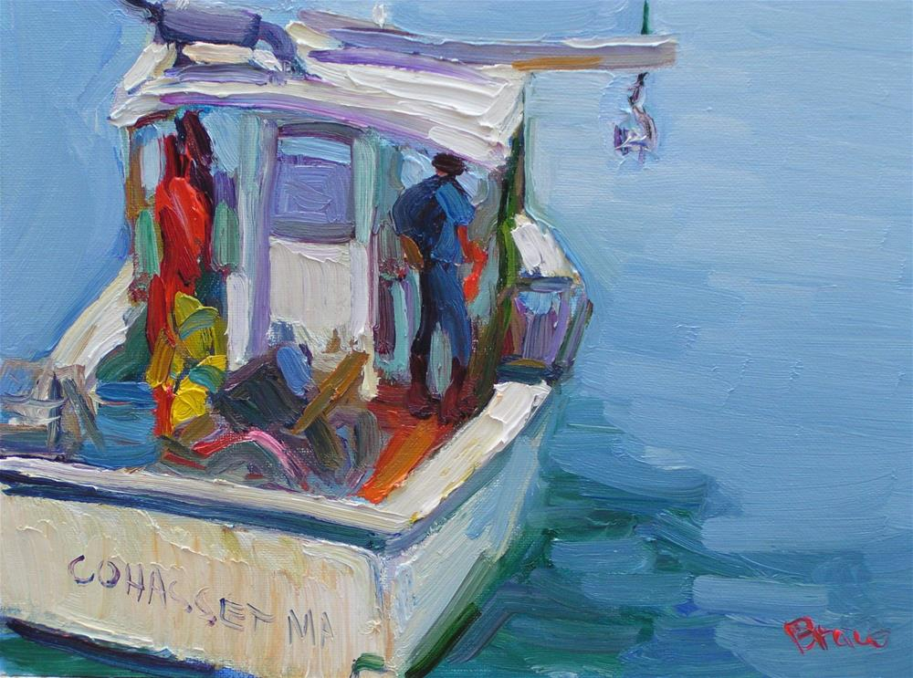 """Cohasset"" original fine art by Rita Brace"
