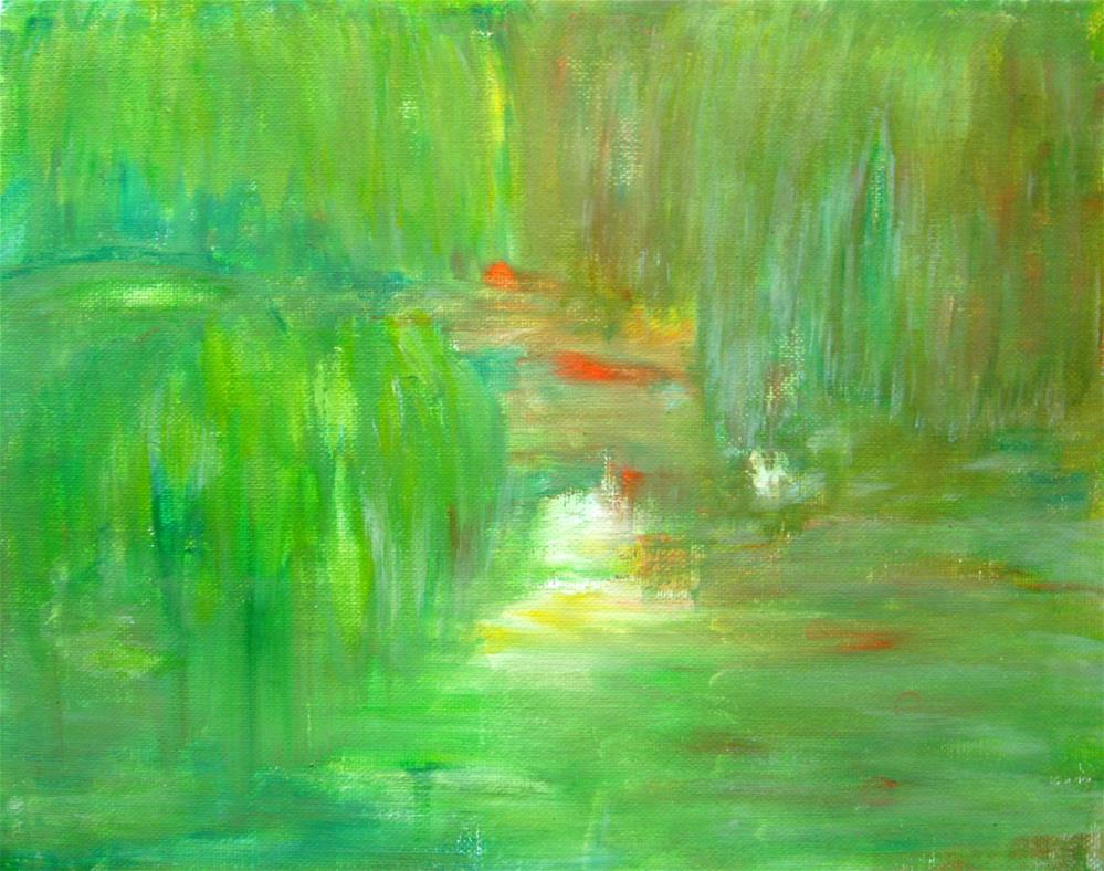"""Luxuriant Vegetation"" original fine art by Alina Frent"