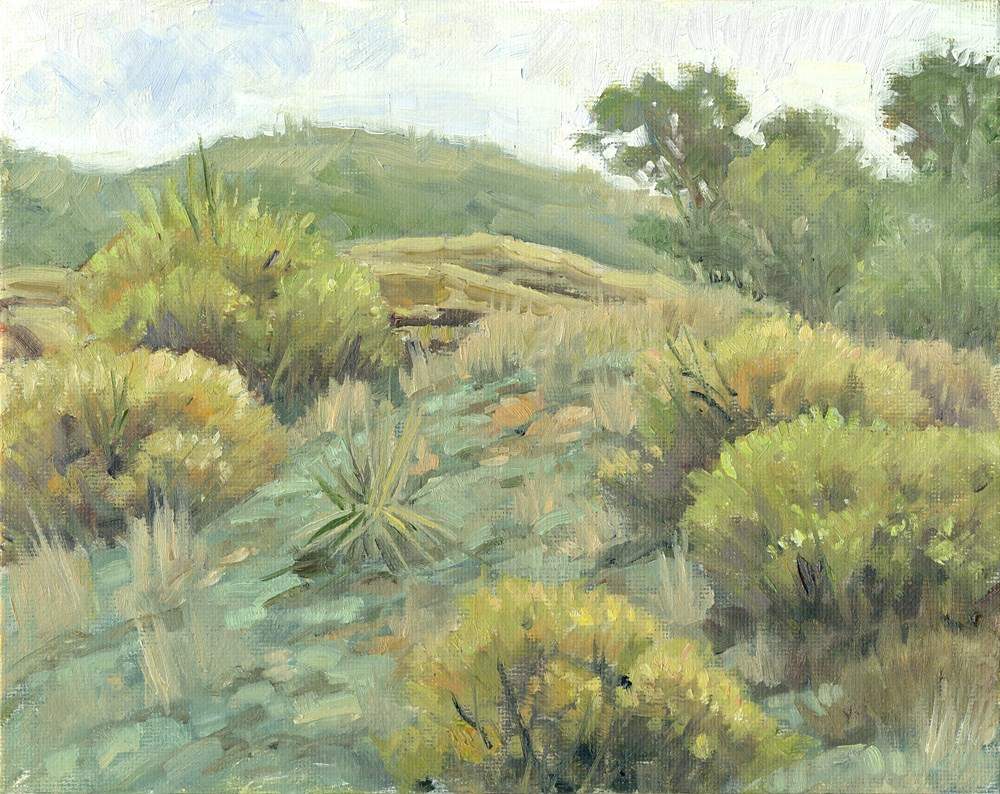 """May Hills"" original fine art by Kath Reilly"