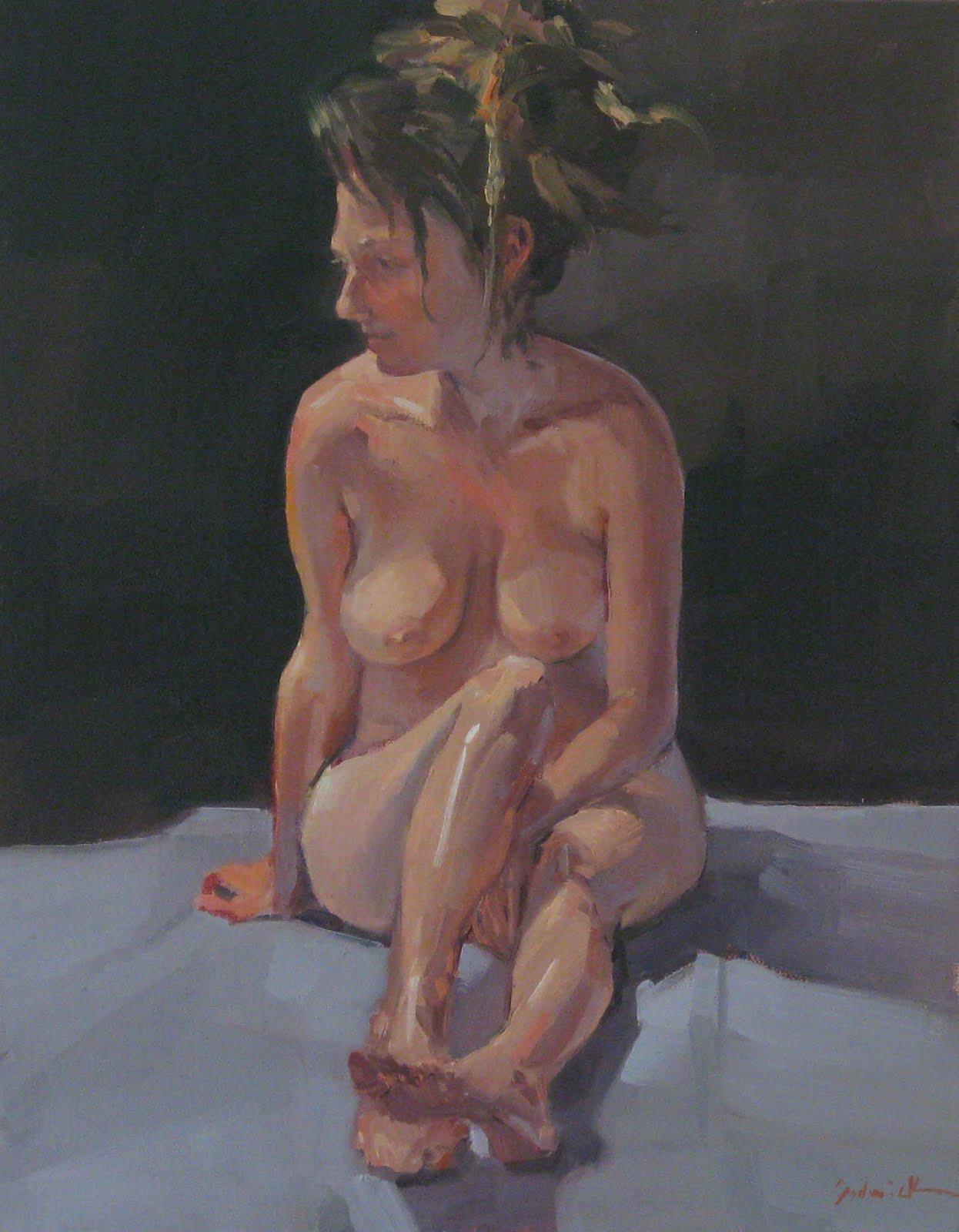 """Girl with Dreadlocks"" original fine art by Sarah Sedwick"