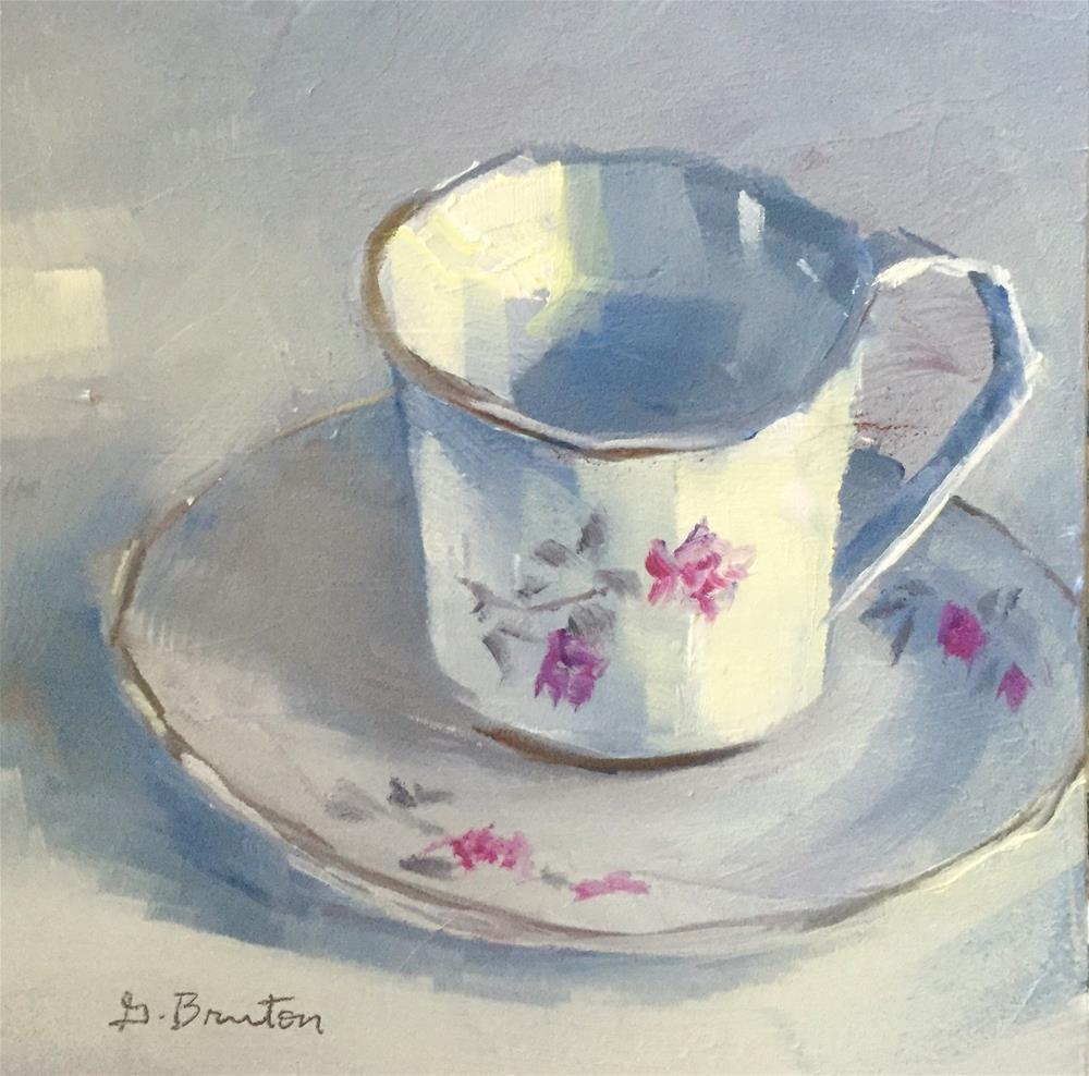 """Teacup"" original fine art by Gary Bruton"