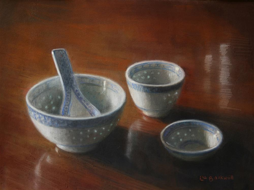 """Rice Pattern"" original fine art by Liz Balkwill"