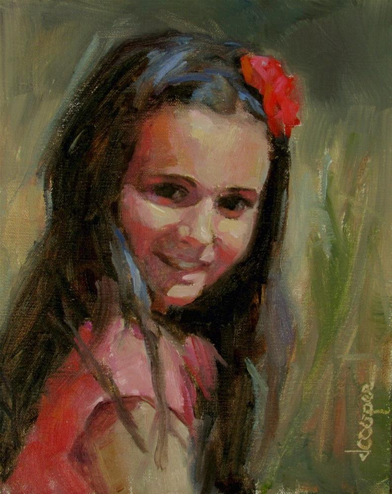 """Her Girl"" original fine art by Dana Cooper"
