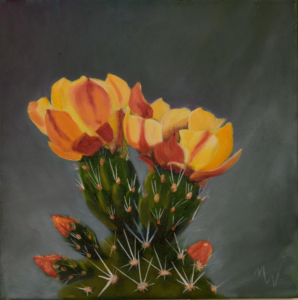 """All aglow"" original fine art by Michelle Wolfe"