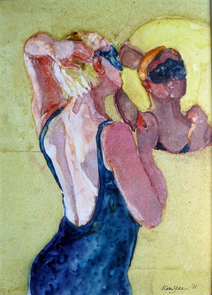 """'Coquette'"" original fine art by Myriam Kin-Yee"