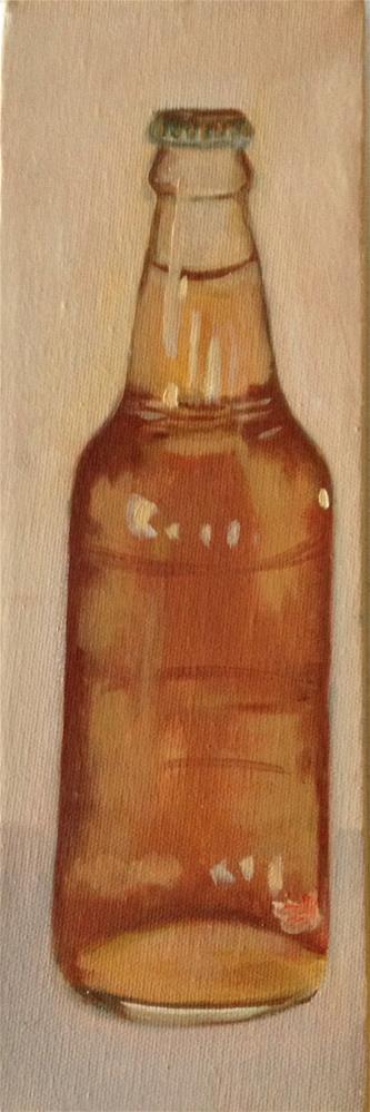 """""""Cream Soda"""" original fine art by Dawn Melka"""