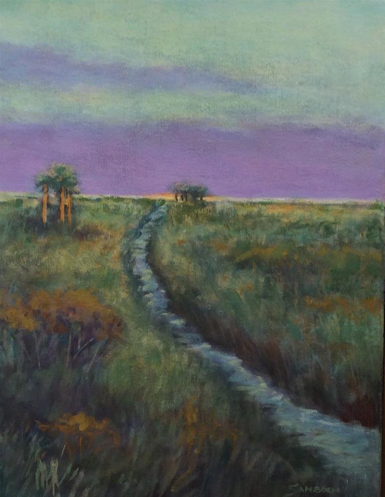 """Early Morning Light"" original fine art by Jo-Ann Sanborn"