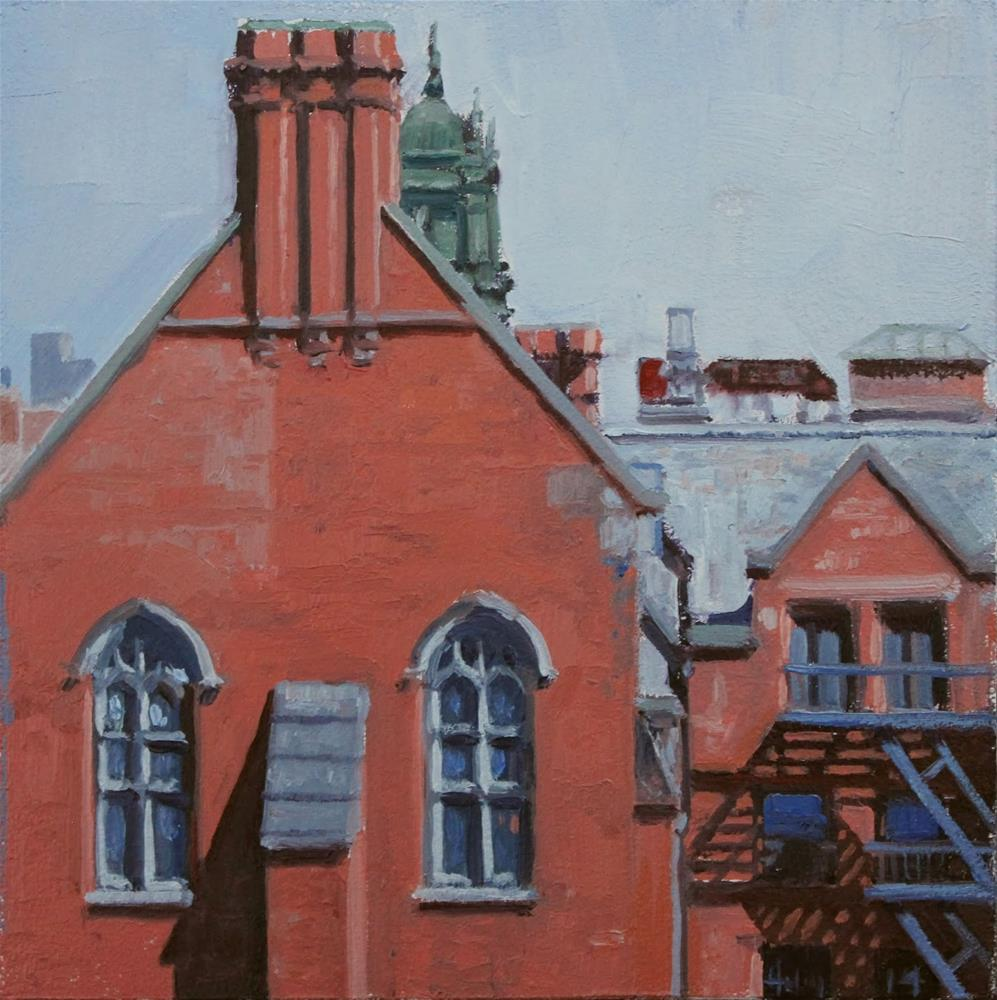 """View From the Highline"" original fine art by Ski Holm"