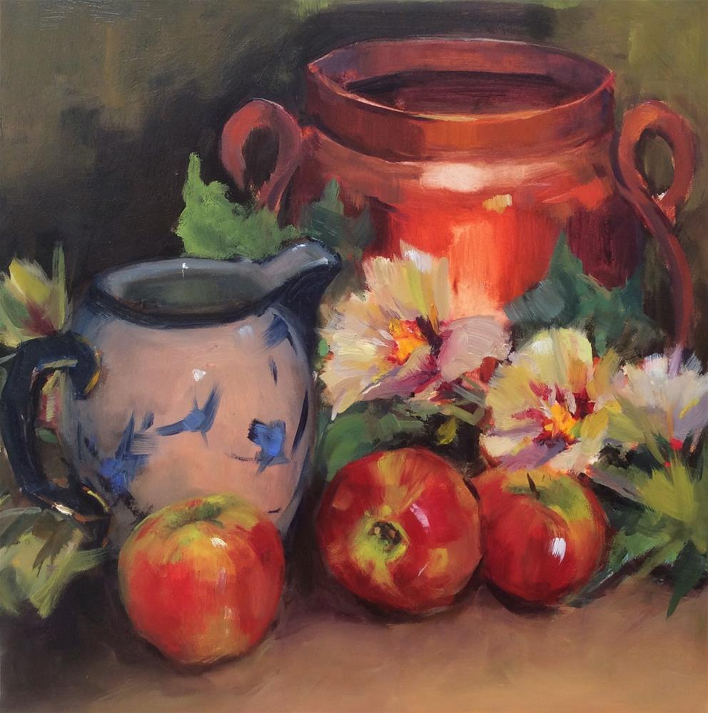 """The Copper Pot"" original fine art by Laurie Johnson Lepkowska"