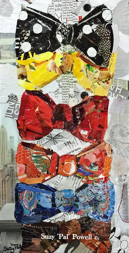 """Bow Ties"" original fine art by Suzy 'Pal' Powell"