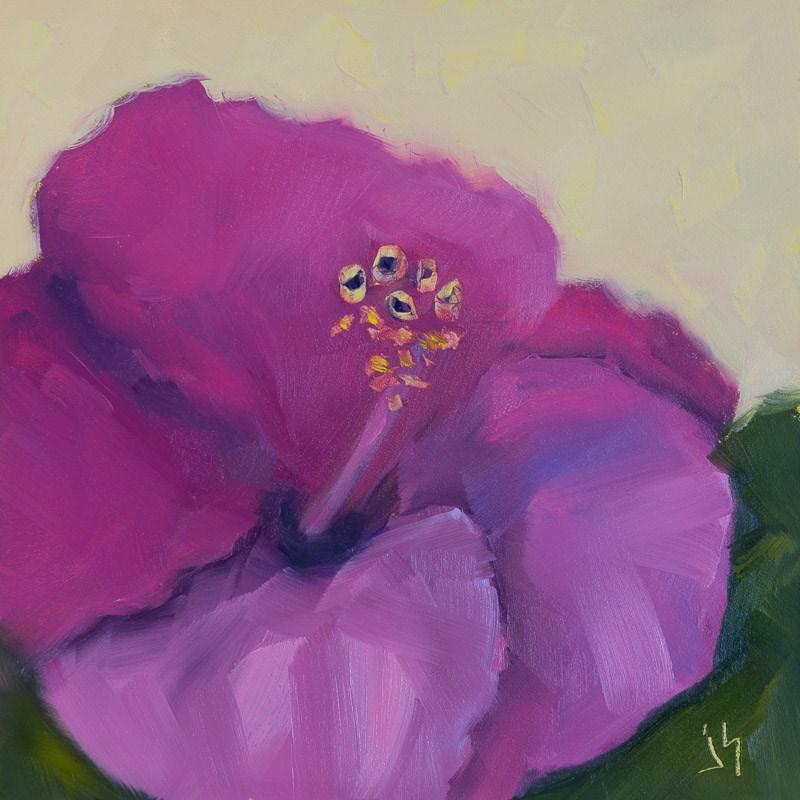 """Persian Hibiscus"" original fine art by Johnna Schelling"