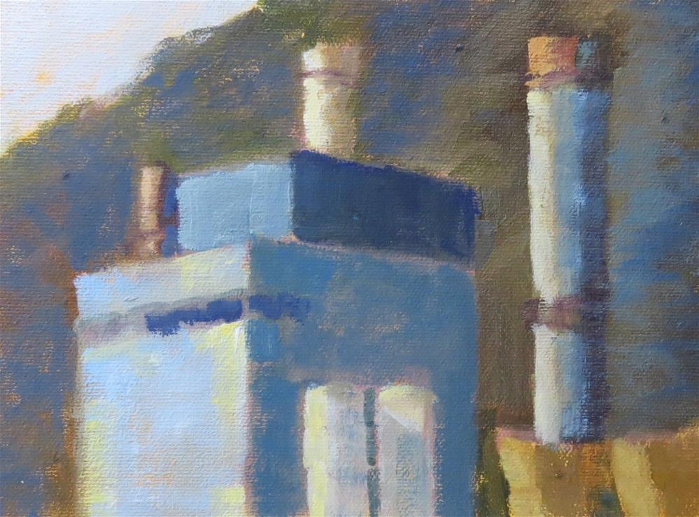 """Power Plant"" original fine art by Pam Holnback"
