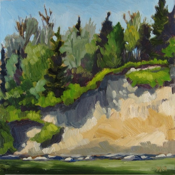 """Beautiful Erosion"" original fine art by Nicki Ault"