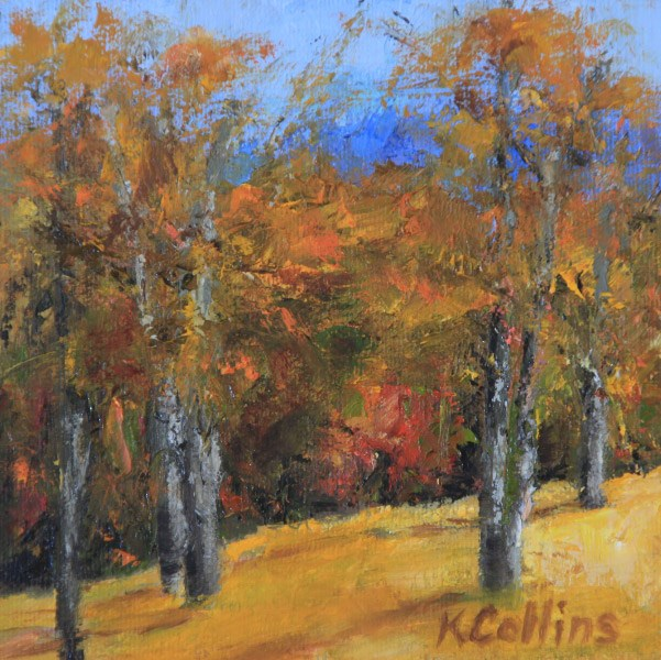 """Sugar Mountain Maples"" original fine art by Kathy Collins"