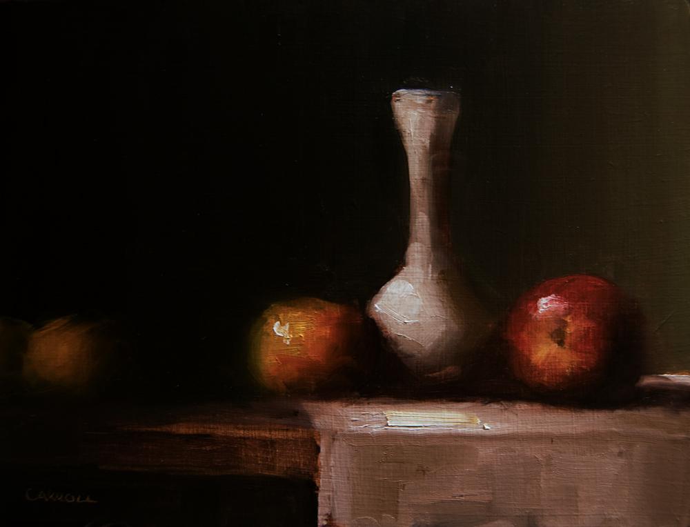 """Bud Vase"" original fine art by Neil Carroll"
