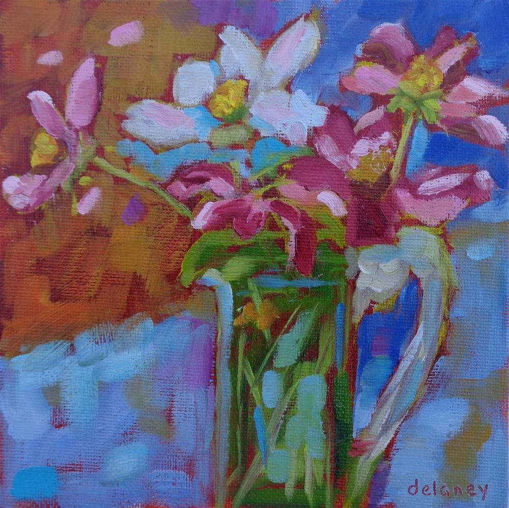 """SIMPLE PLEASURES"" original fine art by Jean Delaney"