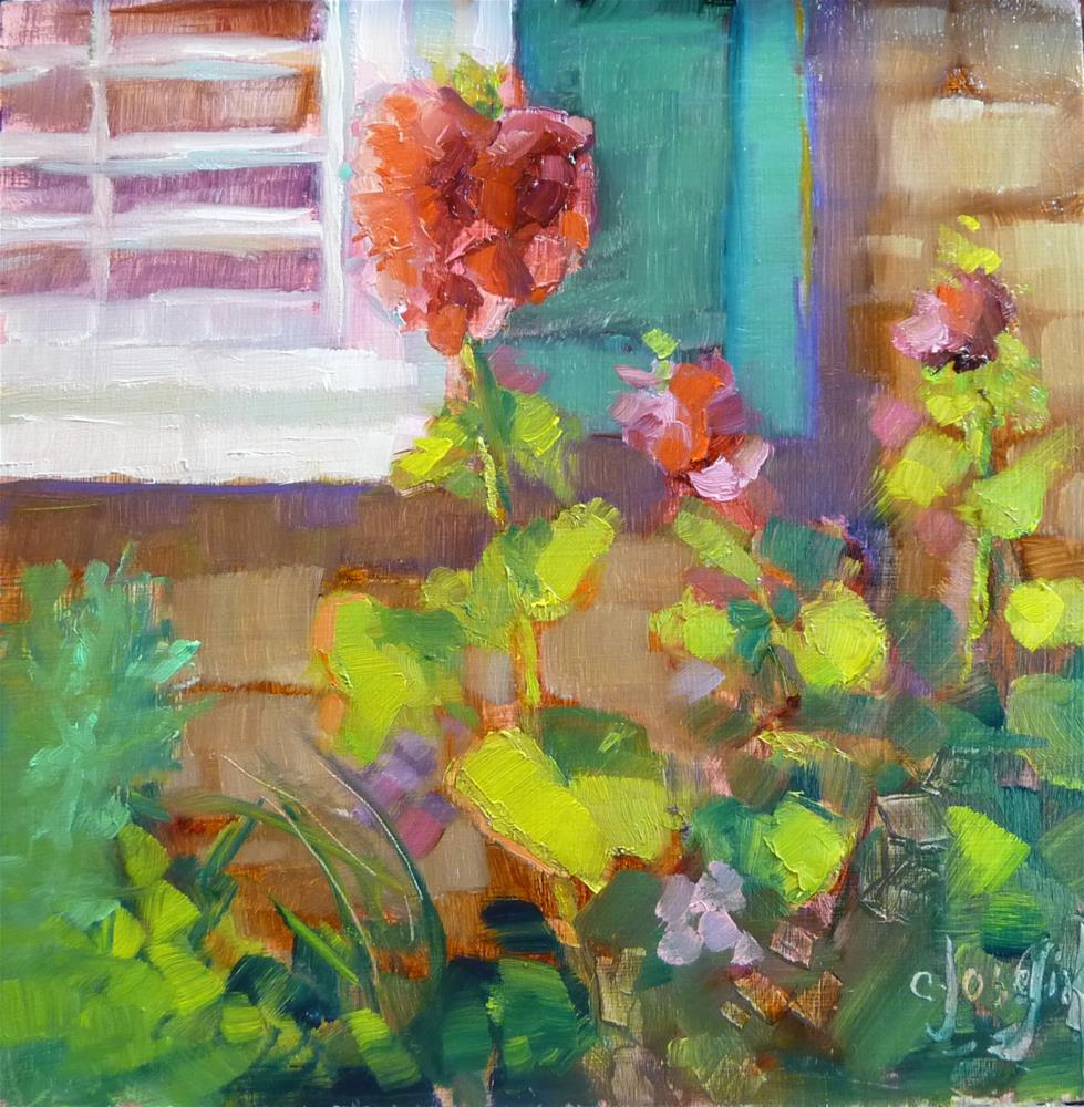 """Martha's"" original fine art by Carol Josefiak"