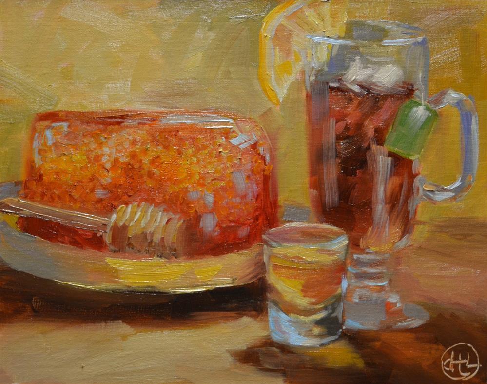 """""""the cure-all"""" original fine art by Dottie  T  Leatherwood"""
