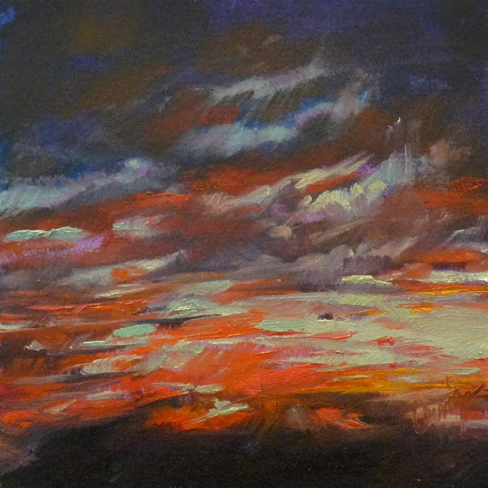 """Sky14"" original fine art by Sharman Owings"
