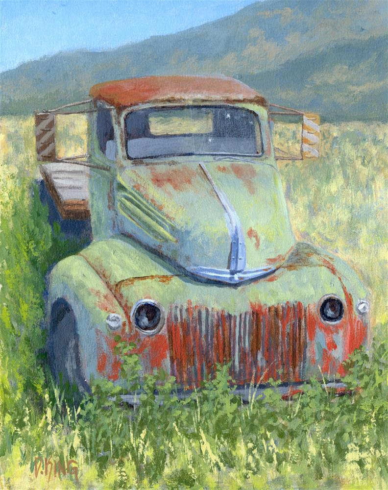 """Forlorn Ford"" original fine art by David King"