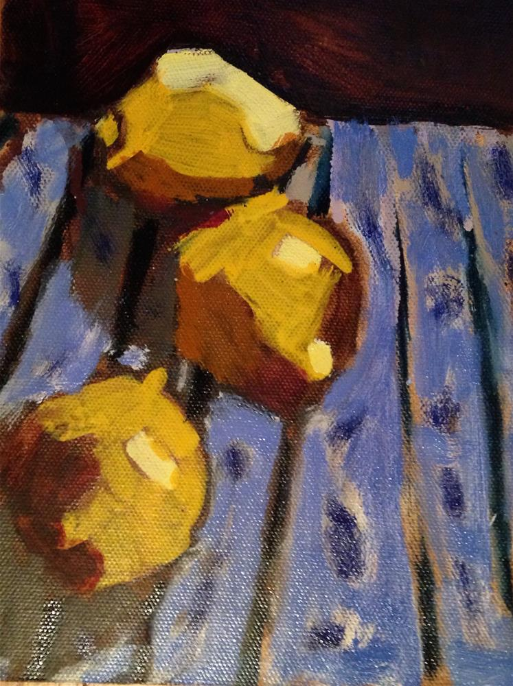 """When Life Hands You Lemons"" original fine art by Pamela Hoffmeister"