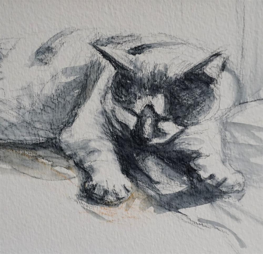 """Oliver Sketch"" original fine art by Jonelle Summerfield"